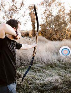 Southwest Archery Spyder Takedown Recurve Bow with arrow